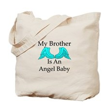 My Brother is an Angel Baby Tote Bag