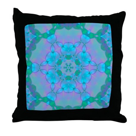 Abyssal Visions XVII Throw Pillow