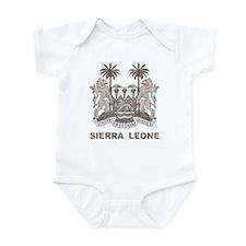 Vintage Sierra Leone Infant Bodysuit