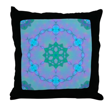 Abyssal Visions XIX Throw Pillow