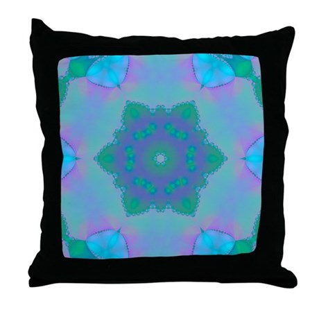 Abyssal Visions XXI Throw Pillow