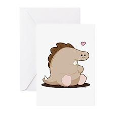 Dino Greeting Cards (Pk of 10)