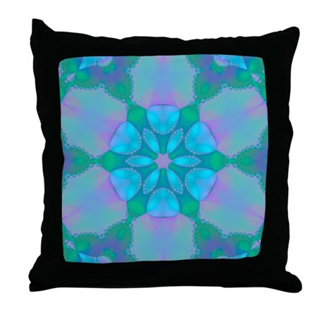 Abyssal Visions XXII Throw Pillow