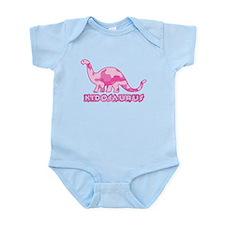 Kid Dinosaur Pink Camo Infant Bodysuit