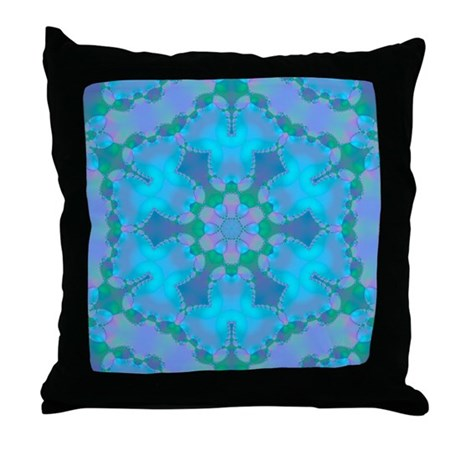 Abyssal Visions XXIV Throw Pillow