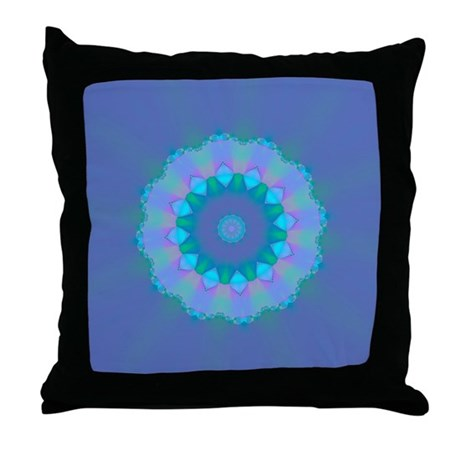 Abyssal Visions XXVIII Throw Pillow