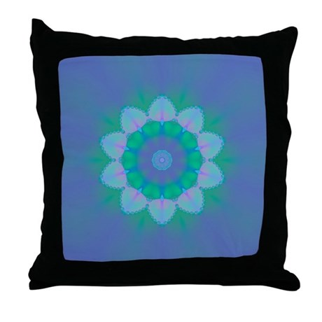 Abyssal Visions XXIX Throw Pillow
