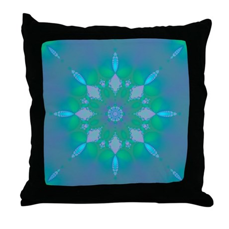 Abyssal Visions XXX Throw Pillow