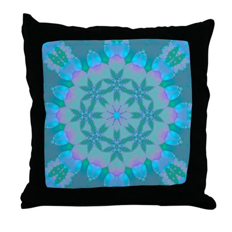 Abyssal Visions XXXII Throw Pillow