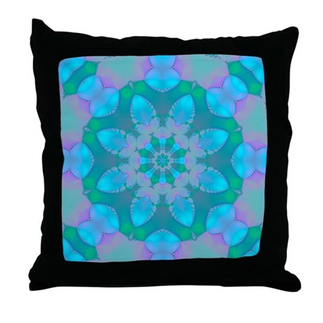 Abyssal Visions XXXIII Throw Pillow