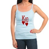 King Ten of Hearts Ladies Top