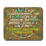 Warzone Anti-Bullying Mousepad