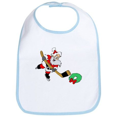 Hockey Santa Bib
