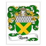 Remy Family Crest Small Poster
