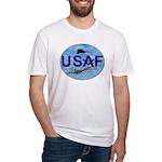 Masonic USAF Fitted T-Shirt