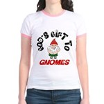 God's Gift to Gnomes Jr. Ringer T-Shirt