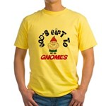 God's Gift to Gnomes Yellow T-Shirt