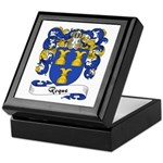 Roque Family Crest Keepsake Box