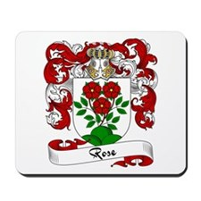 Rose Family Crest Mousepad