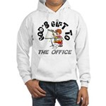 God's Gift to the Office 1 Hooded Sweatshirt