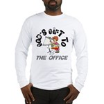 God's Gift to the Office 1 Long Sleeve T-Shirt