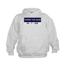 Thank You Blue Hoodie