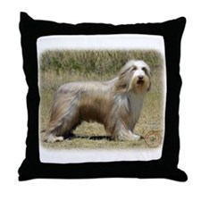 Bearded Collie 9P042D-005 Throw Pillow