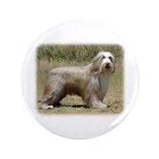 "Bearded Collie 9P042D-005 3.5"" Button"