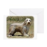 Bearded Collie 9P042D-005 Greeting Cards (Pk of 20