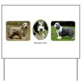 Bearded Collies Yard Sign