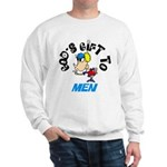 God's Gift to Men Sweatshirt