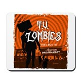 T.V. Zombies Mousepad