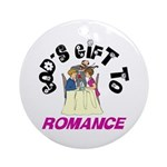 God's Gift to Romance Keepsake (Round)
