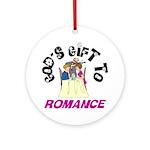 God's Gift to Romance Keepsake (Round)