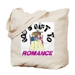 God's Gift to Romance Tote Bag