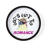 God's Gift to Romance Wall Clock