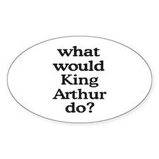 King Arthur Oval Decal