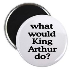 "King Arthur 2.25"" Magnet (100 pack)"