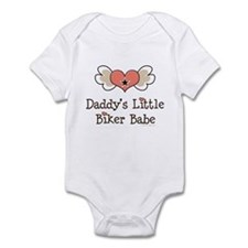 Daddy's Little Biker Babe Onesie