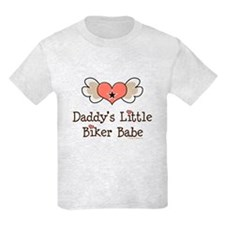 Daddy's Little Biker Babe T-Shirt