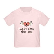Daddy's Little Biker Babe T