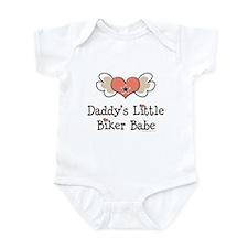 Daddy's Little Biker Babe Onesie