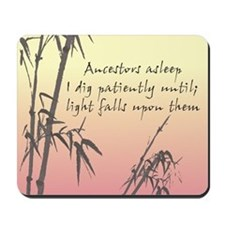 Genealogy Haiku Mousepad