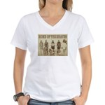 Home of the Braves Women's V-Neck T-Shirt