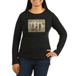 Home of the Braves Women's Long Sleeve Dark T-Shir