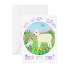 Bless All God's Creatures Greeting Cards (Package