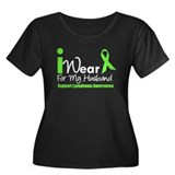 Lymphoma (Husband) Women's Plus Size Scoop Neck Da