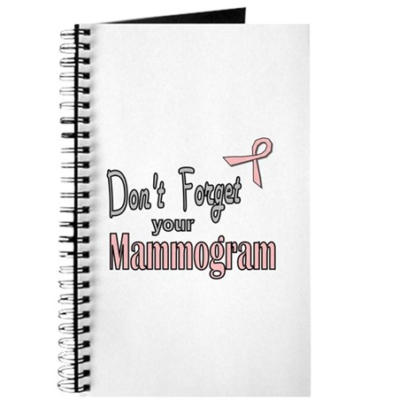 Mammogram Reminder Journal