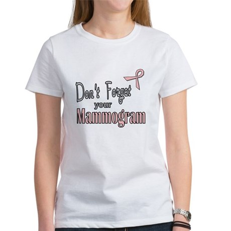 Mammogram Reminder Women's T-Shirt