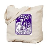 Purple Bacchus Tote Bag